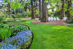Jardín hermoso, botánico en primavera Imágenes de archivo libres de regalías