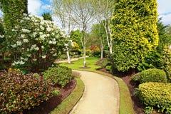 Jardín hermoso de la primavera Imagenes de archivo