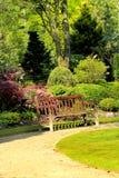 Jardín hermoso de la primavera en Escocia Fotografía de archivo libre de regalías