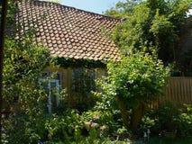 Jardín inglés atractivo Imagen de archivo libre de regalías