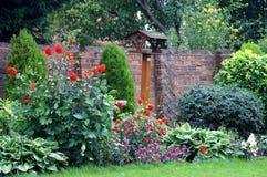 Jardín inglés del país Fotos de archivo libres de regalías
