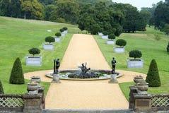 Jardín inglés del país Foto de archivo libre de regalías