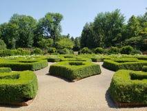 Jardín inglés en el jardín botánico de Missouri, ST Louis MO foto de archivo libre de regalías