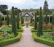 Jardín inglés formal Fotografía de archivo