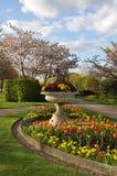 Jardín inglés hermoso Imagenes de archivo