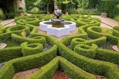Jardín intrincado del nudo Imágenes de archivo libres de regalías