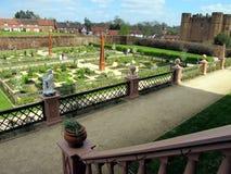 Jardín isabelino, Kenilworth. Imágenes de archivo libres de regalías