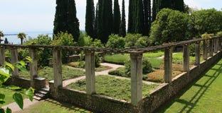 Jardín italiano imagenes de archivo