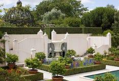 Jardín italiano del renacimiento Fotos de archivo libres de regalías