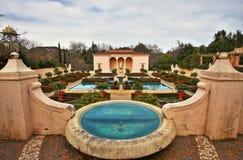 Jardín italiano del renacimiento Fotos de archivo