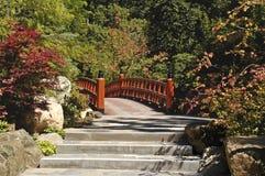 Jardín japonés 2 Fotografía de archivo libre de regalías