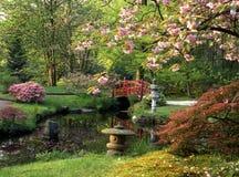 Jardín japonés Fotos de archivo libres de regalías