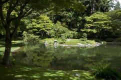 Jardín japonés Imágenes de archivo libres de regalías