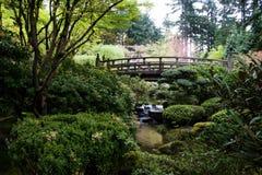 Jardín japonés Fotografía de archivo
