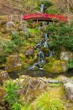 Jardín japonés conmemorativo de Fujita en Hirosaki, Japón foto de archivo libre de regalías