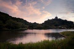 Jardín japonés del zen Imagenes de archivo
