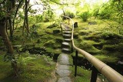 Jardín japonés del zen foto de archivo libre de regalías
