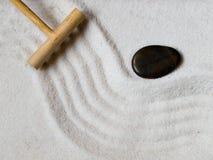 Jardín japonés del zen Foto de archivo