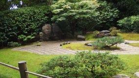 Jardín japonés del zen con las piedras fotos de archivo