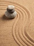 Jardín japonés del ZEN Stone Imagen de archivo libre de regalías