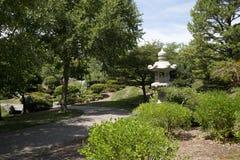 Jardín japonés en el jardín botánico de Missouri, ST Louis MO imagenes de archivo