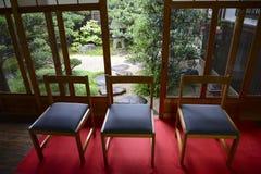 Jardín japonés en Kyoto, Japón Imagen de archivo