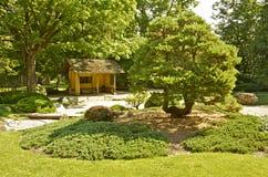 Jardín japonés en la universidad de Carleton Fotos de archivo