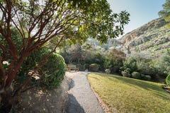 Jardín japonés en los kibutz Hephzibah Fotografía de archivo