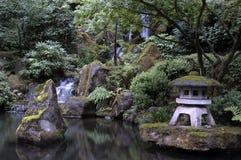 Jardín japonés en Portland Oregon Imágenes de archivo libres de regalías