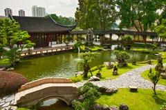 Jardín japonés en Singapur Imagen de archivo