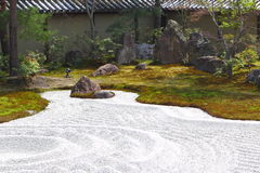 Jardín japonés hermoso Fotografía de archivo libre de regalías