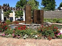 Jardín justo de la 'promenade' de los robles Imagen de archivo