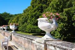 Jardín magnífico de Diane de Poitiers imágenes de archivo libres de regalías