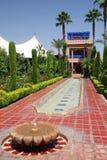 Jardín marroquí Fotografía de archivo