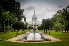 Jardín municipal en Colombo Imagenes de archivo