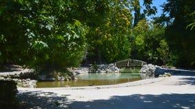 Jardín nacional en Atenas, Grecia el 23 de junio de 2017 fotografía de archivo libre de regalías