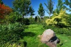 Jardín oriental Imagen de archivo libre de regalías