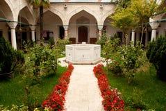 Jardín oriental del monasterio Imagen de archivo