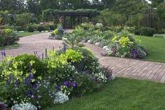 Jardín ornamental Foto de archivo libre de regalías