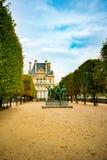Jardín otoñal de París - de Tuileries foto de archivo libre de regalías