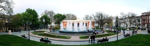 Jardín público Foto de archivo