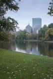 Jardín público común de Boston Foto de archivo