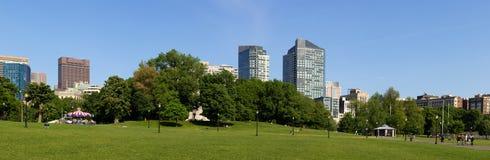 Jardín público de Boston Fotografía de archivo