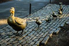 Jardín público de Boston Foto de archivo libre de regalías