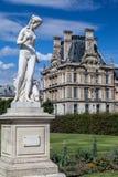 Jardín París Francia de Tuileries Imagenes de archivo