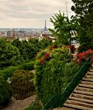 Jardín parisiense imagen de archivo