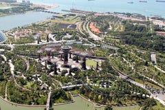 Jardín por la bahía, Singapur Fotos de archivo libres de regalías