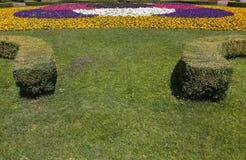 Jardín real Imágenes de archivo libres de regalías