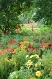 Jardín romántico Foto de archivo