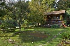 Jardín rural Foto de archivo